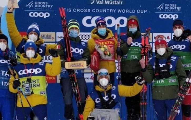 Pellegrino vince  anche in Val Mustair   Bertolina in ripresa