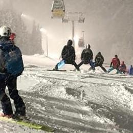 Troppa neve, rinviato a domani lo slalom gigante di Santa Caterina Valfurva