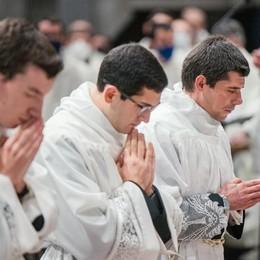 Tre nuovi diaconi  per la Diocesi  Uno è valtellinese