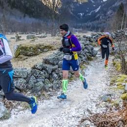 """""""Val di Mello Winter Trail""""  Del Pero e Galassi da applausi"""