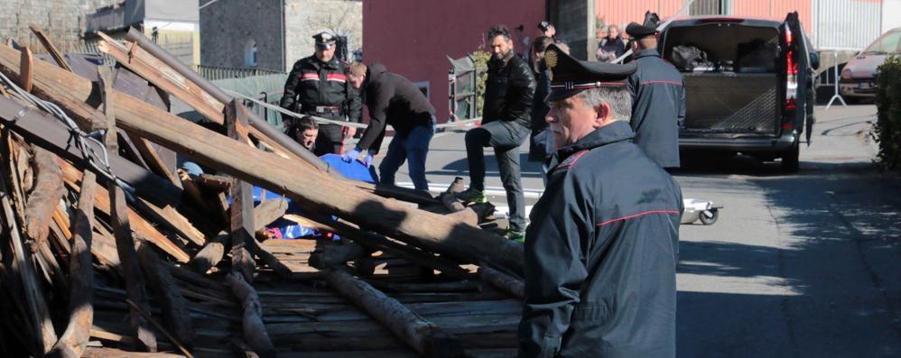 Traona, area sotto sequestro  Disposta l'autopsia