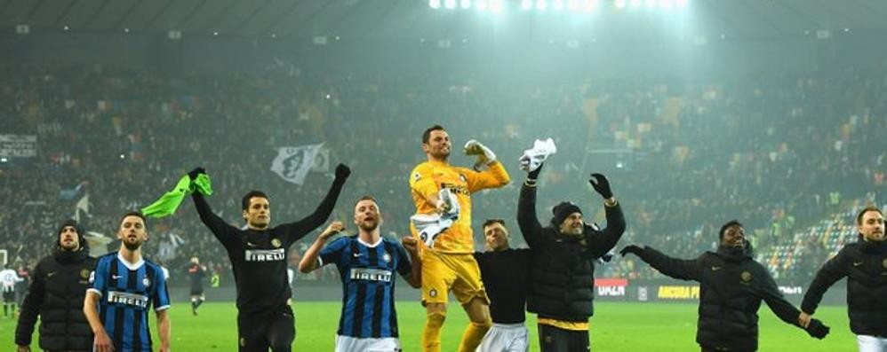 Padelli e la prima con l'Inter in A  Rogolo, la gioia in famiglia  «Era il suo sogno»