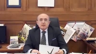 Il videomessaggio  del prefetto di Sondrio