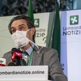 Coronavirus, Fontana:  valgono le restrizioni regionali  Monitoraggio domiciliare   e quarantena in hotel