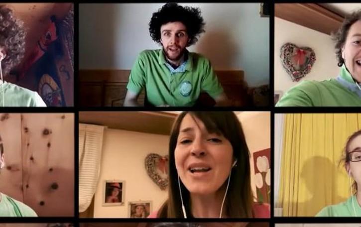 L'inno alla vita dei Li Osc'   per raccogliere fondi (video)
