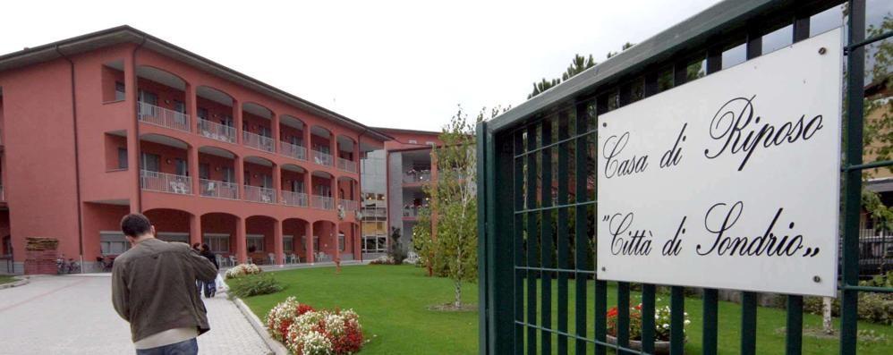 Case di riposo  Venti casi sospetti  anche a Sondrio