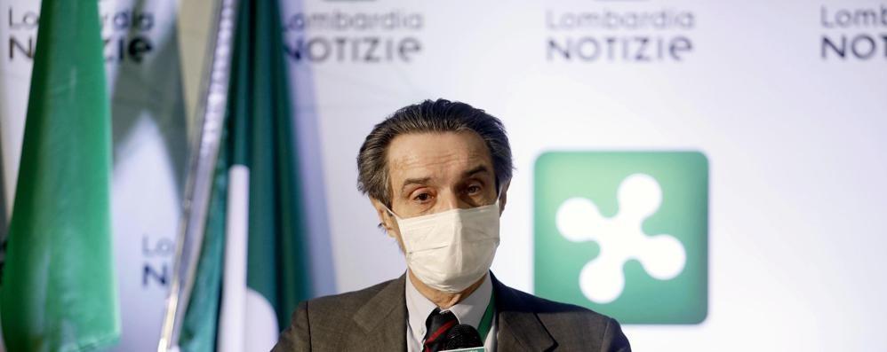 Coronavirus, Fontana:  rallenta troppo adagio