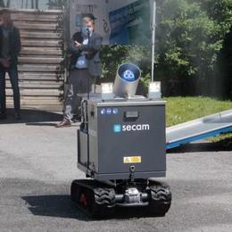 Da Secam il robot  che sanifica da solo