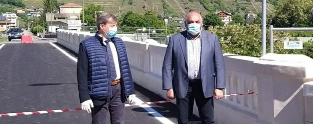 Riaperto il ponte di Stazzona  «Opera necessaria»