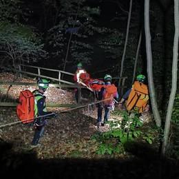 Samolaco, tragedia nel bosco  Muore uomo di 62 anni