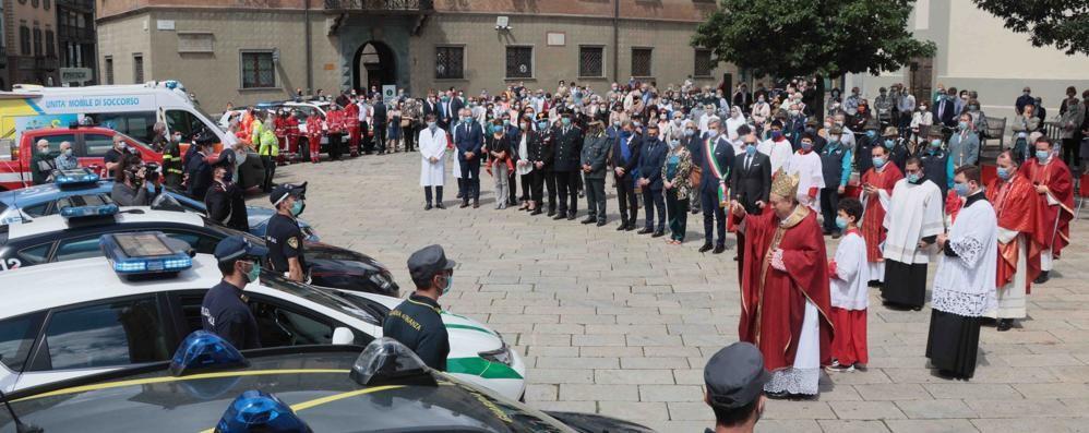 """""""Grazie"""" del vescovo  a chi ha lavorato  durante l'emergenza"""