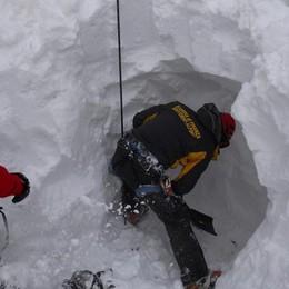Valanga del Monte Cristallo  Denunciato lo scialpinista