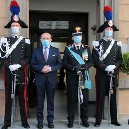Carabinieri vicini  anche nell'epidemia   Con tanti piccoli gesti