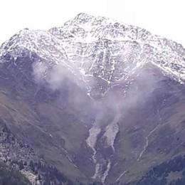 Frana in Val Zernone  e ancora chiuso il Tracciolino