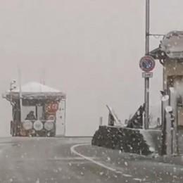 Valtellina, pioggia e un po' di neve  Maltempo per una settimana