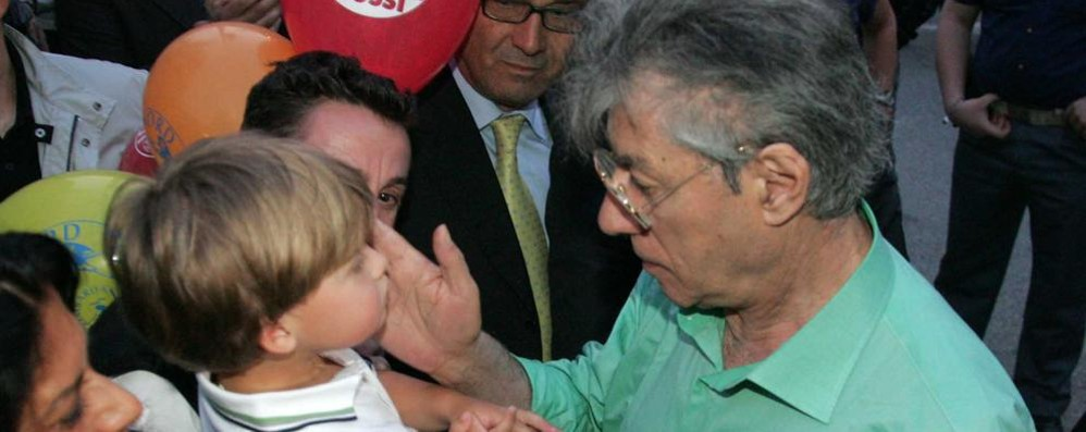 Umberto Bossi  ricoverato in ospedale
