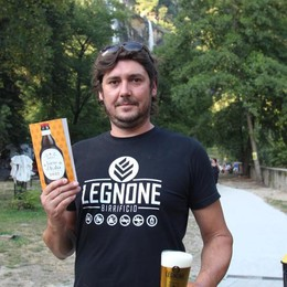 Birra imperdibile  La testa di malto  del Bifficio Legnone