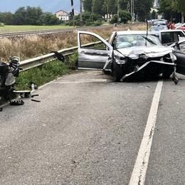 Grave incidente a Cosio  Cinque feriti, uno gravissimo
