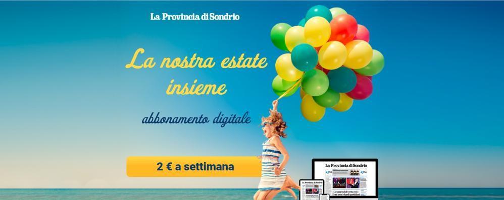 La Provincia di Sondrio digitale  2 euro a settimana  e leggi tutto ciò che vuoi