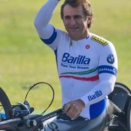 Alex Zanardi   trasferito  a Villa Beretta
