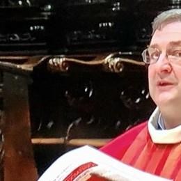 Don Citterio trasferito  Ha lasciato Sondrio, va al santuario a Tirano