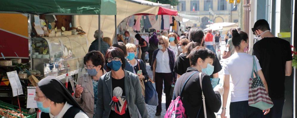 Ferragosto con il mercato  A Sondrio e a Morbegno
