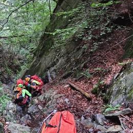 Pensionato cade nel bosco  Molto gravi le sue condizioni