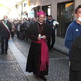 Berbenno, il ritorno del vescovo   Festa per monsignor Giorgio Barbetta