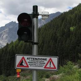 Valfurva, chiusa la provinciale  Torna l'allarme frana al Ruinon