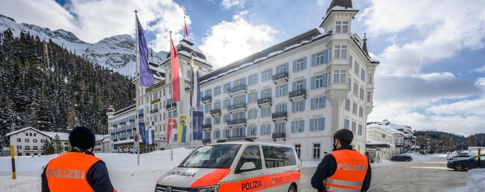 Casi a St. Moritz,   timori in Valchiavenna