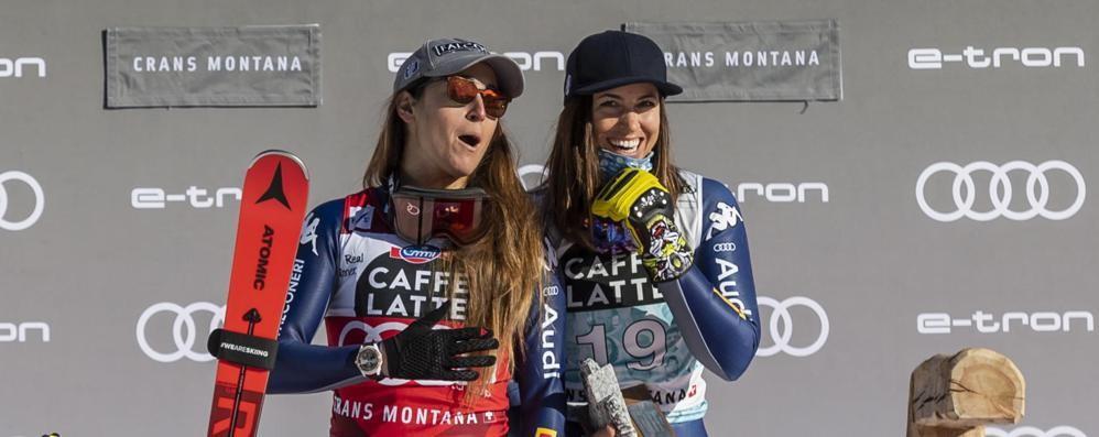Mondiali in fermento a Cortina  Le sorelle Curtoni al cancelletto