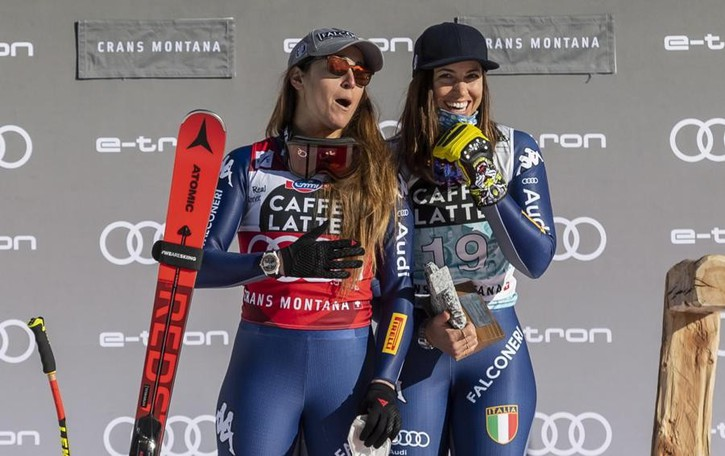 Mondiali in fermento a Cortina  Le sorelle Curtoni al cancelletto