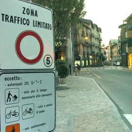 Zona a traffico limitato  Varchi elettronici a Morbegno