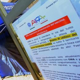 Stop AstraZeneca  Ferme in provincia  mille vaccinazioni
