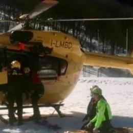 Valanga travolge sci alpinisti    Due feriti lievi in ospedale