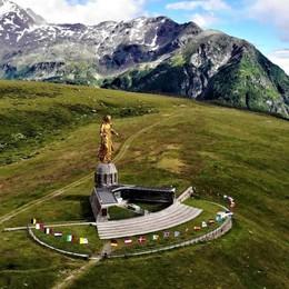 Giro d'Italia a un passo   dall'Alpe Motta