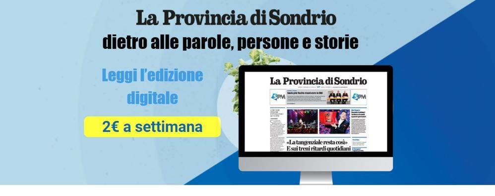 La Provincia di Sondrio digitale  Tanta roba per 2 euro   alla settimana