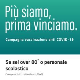 Vaccinazione senza la prenotazione  Dal giorno 7, ma solo se iscritti al sistema