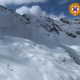 Valanga nella zona della Valletta  Aprica, salvi due sci alpinisti