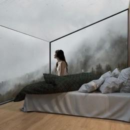 Camera di vetro a Prato Secondo   Per il turismo in alpeggio