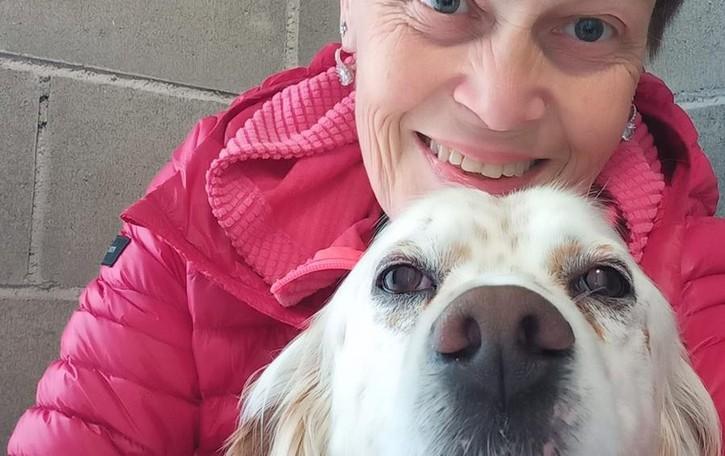 Il cane Lucky torna a vedere  «È un grande traguardo»