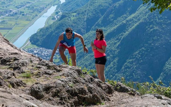 Vender e Gaggi   dominano la Colmen Trail
