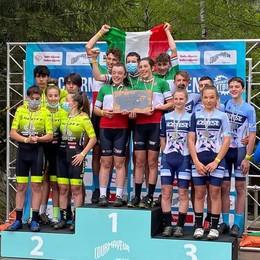 Melavi Tirano Bike da applausi  È campione d'Italia nella staffetta