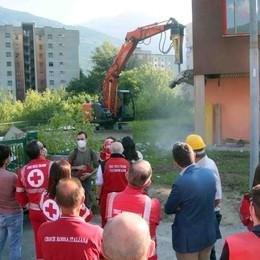 Addio vecchia sede  della Croce Rossa  Via alla demolizione