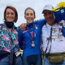 Campionato europeo  Valentina Corvi terza
