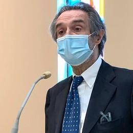 Fontana: «Da lunedì  la Lombardia zona bianca»