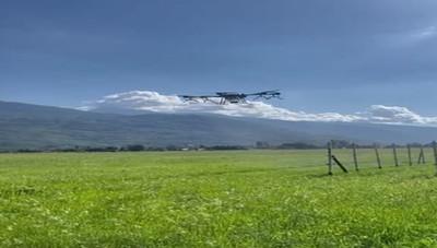 Il drone che lavorerà in vigna