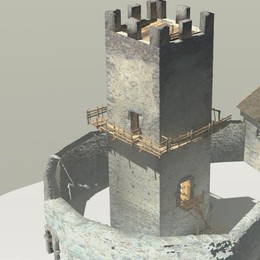 Lo studio sul castello   per riportarlo in vita