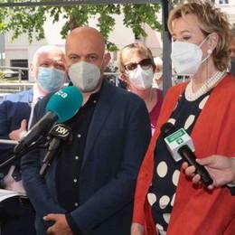 Moratti: «Ecco 120 milioni  per la Sanità di montagna»