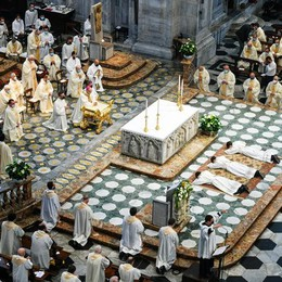 Ordinati tre sacerdoti  Livigno in festa  per don Mauro Confortola